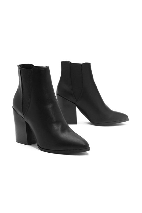 Footwear, Boot, Shoe, Leather, Joint, High heels,