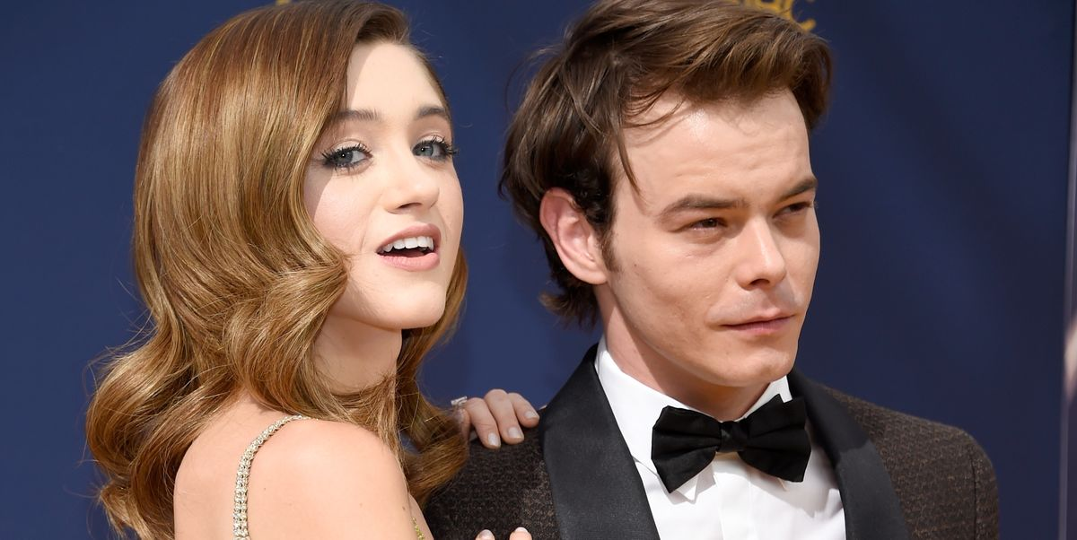 Natalia Dyer and Charlie Heaton Make Emmys 2018 Couple Debut