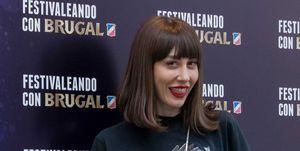 Natalia Ferviú en una fiesta del ronBrugal en Madrid