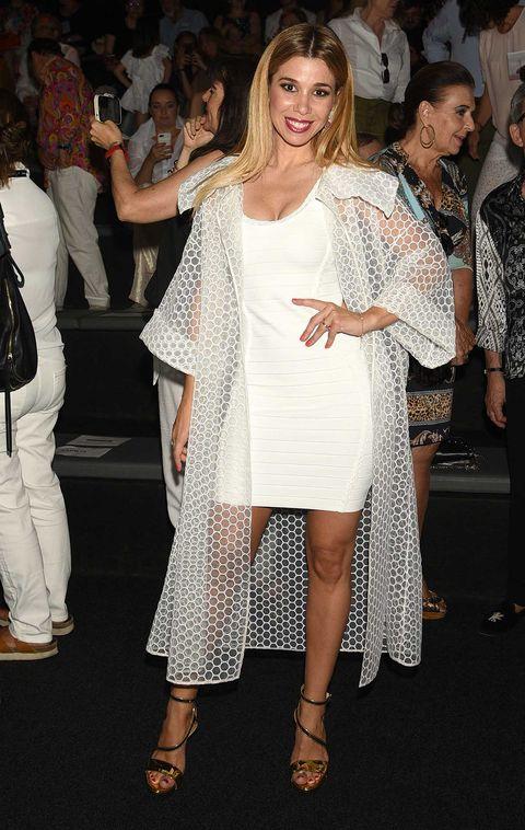 Famosos en la Mercedes Benz Fashion Week Madrid