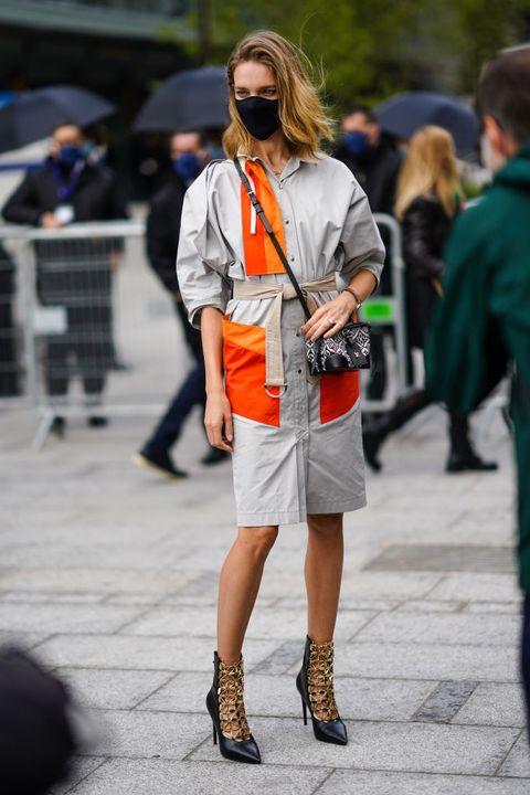 street style at paris fashion week   womenswear spring summer 2021  day nine