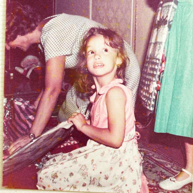 Vintage clothing, Child model, Retro style, Smile, Long hair, Photography, Child,