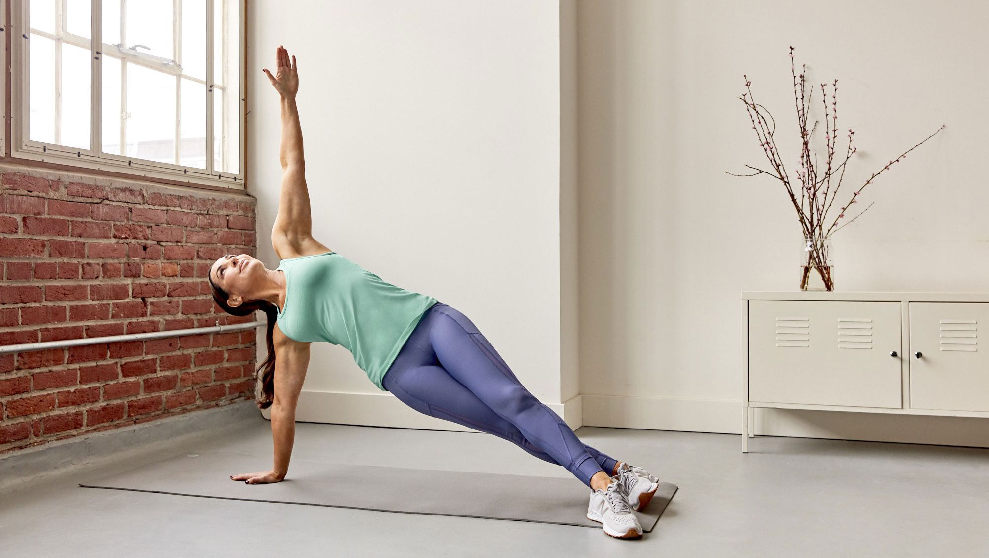 Natalie Jill Side Plank