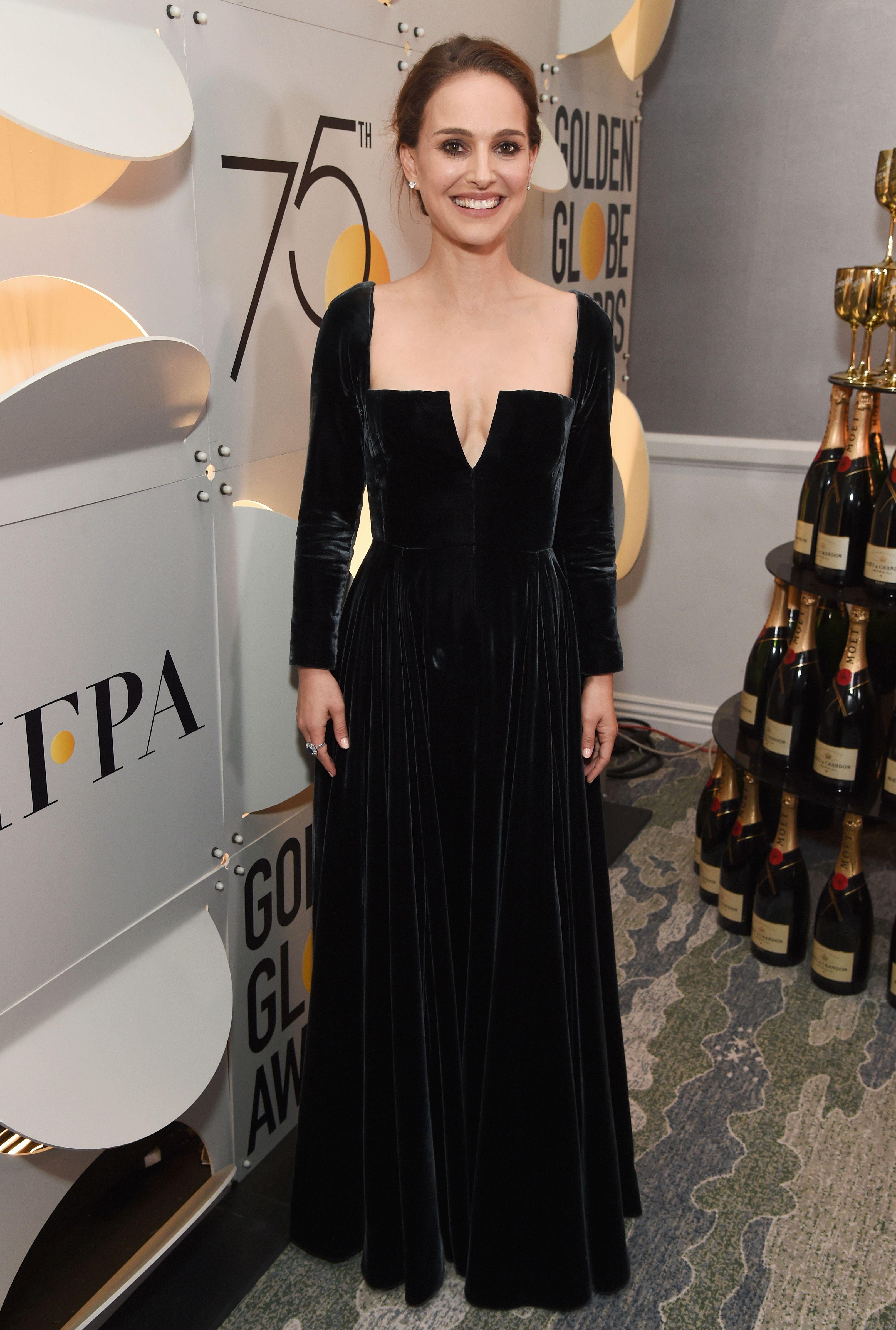vestidos Globos de Oro Dior