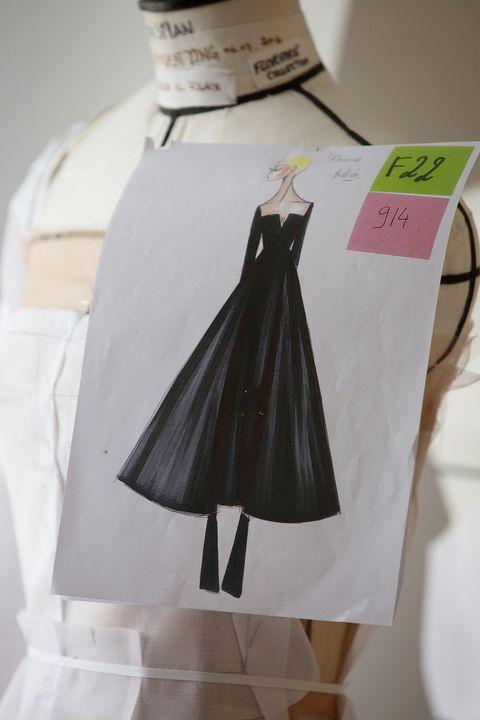Natalie Portman's Dior dress for the Golden Globes
