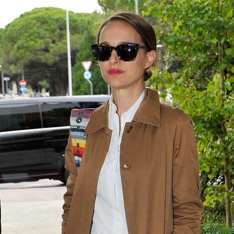 Natalie Portman, Festival de Venecia, estilo de Natalie Portman, look working, entretiempo, looks de entretiempo, trench, looks working de entretiempo, tendencias, estilo