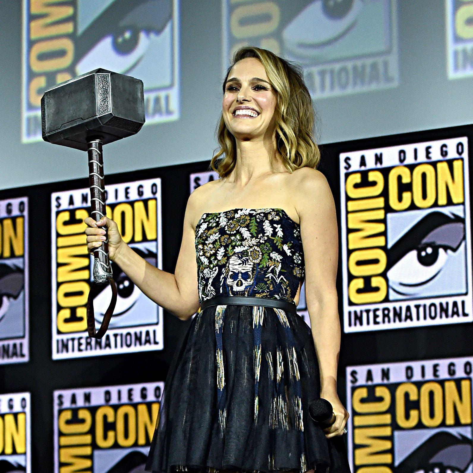 Natalie Portman Will Be the 'Goddess of Thunder' in Marvel's Phase Four 'Thor' Movie