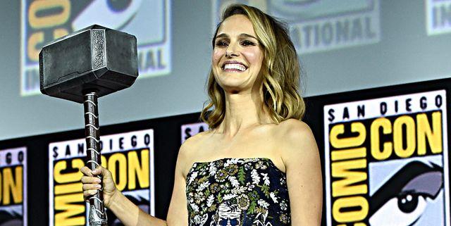 Natalie Portman Announced As the First Female Thor