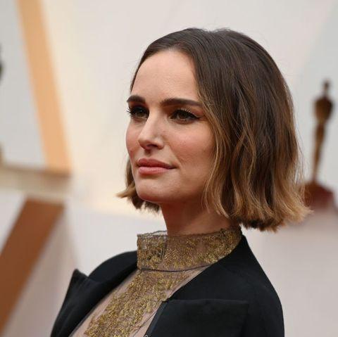 Natalie Portman Oscars dress Rose McGowan