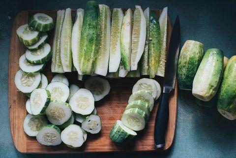 Food, Vegetable, Cucumber, Zucchini, Ingredient, Cuisine, Dish, Plant, Produce, Cucumis,