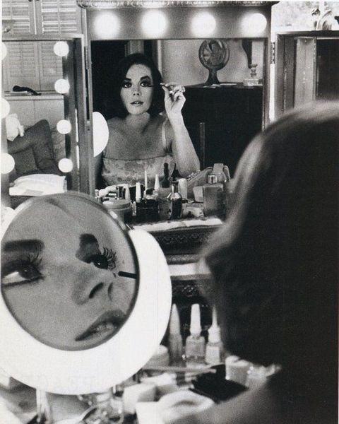 Celebrities Applying Makeup