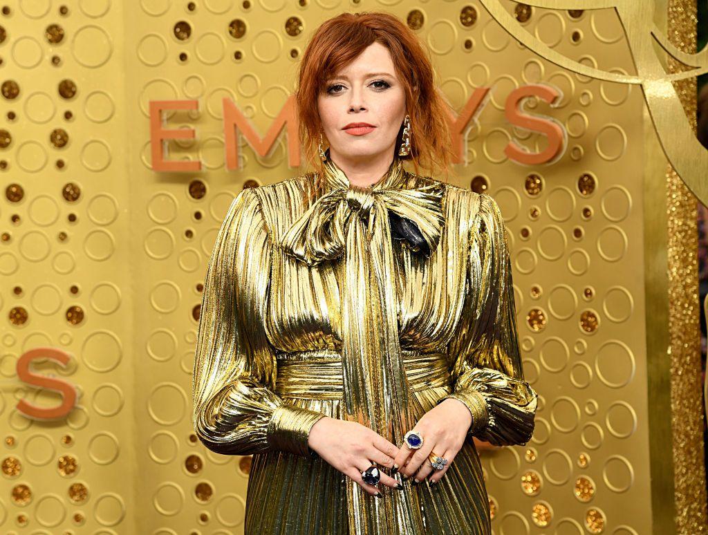 Russian Doll's Natasha Lyonne does a Nicole Kidman clap at the Emmys