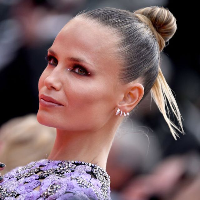 cannes, france   july 12 natasha poly attends the the french dispatch screening during the 74th annual cannes film festival on july 12, 2021 in cannes, france photo by lionel hahngetty images