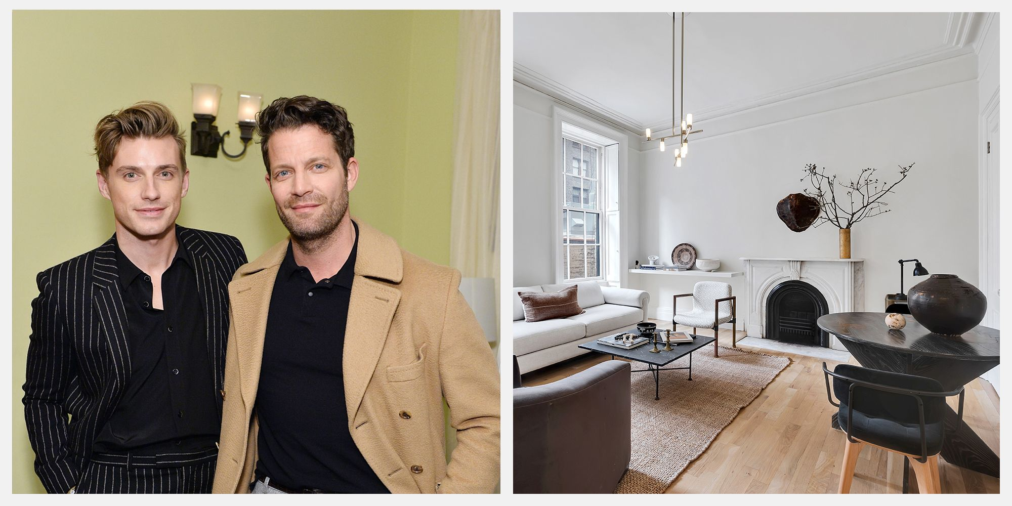 Nate Berkus and Jeremiah Brent's Greenwich Village Home is on Sale for $800,000
