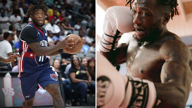 nate robinson, de jugar al baloncesto en la nba a boxear