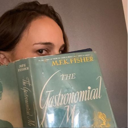 natalie portman,『the gastronomical me』