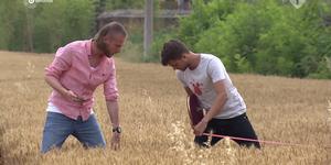 Nathan en Buddy in Wie Is De Mol? aflevering 6