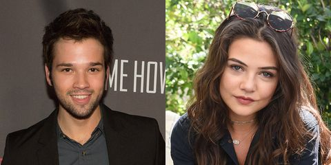 Nathan Kress Wedding.Icarly Star Nathan Kress And Danielle Campbell From The
