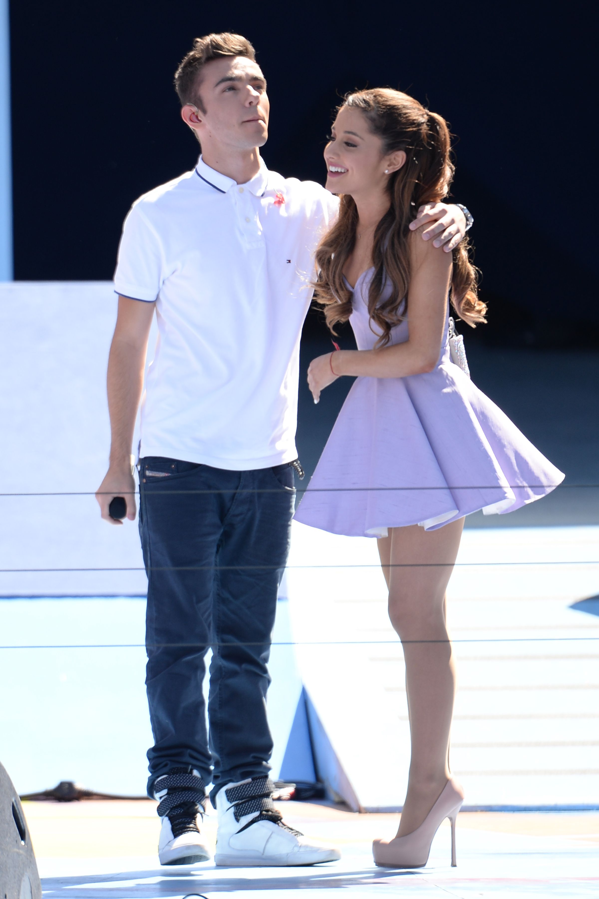 Ariana grande dating guy from the wanted