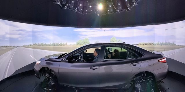 national advanced driving simulator