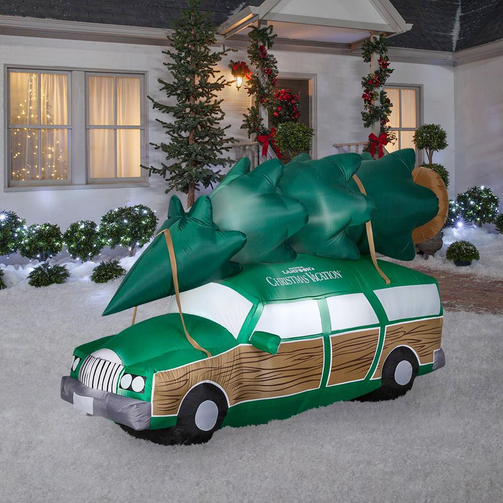 Best National Lampoon S Christmas Vacation Station Wagon Inflatable Decoration