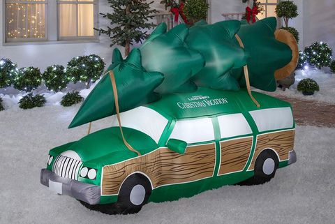 national lampoons christmas vacation station wagon inflatable decoration