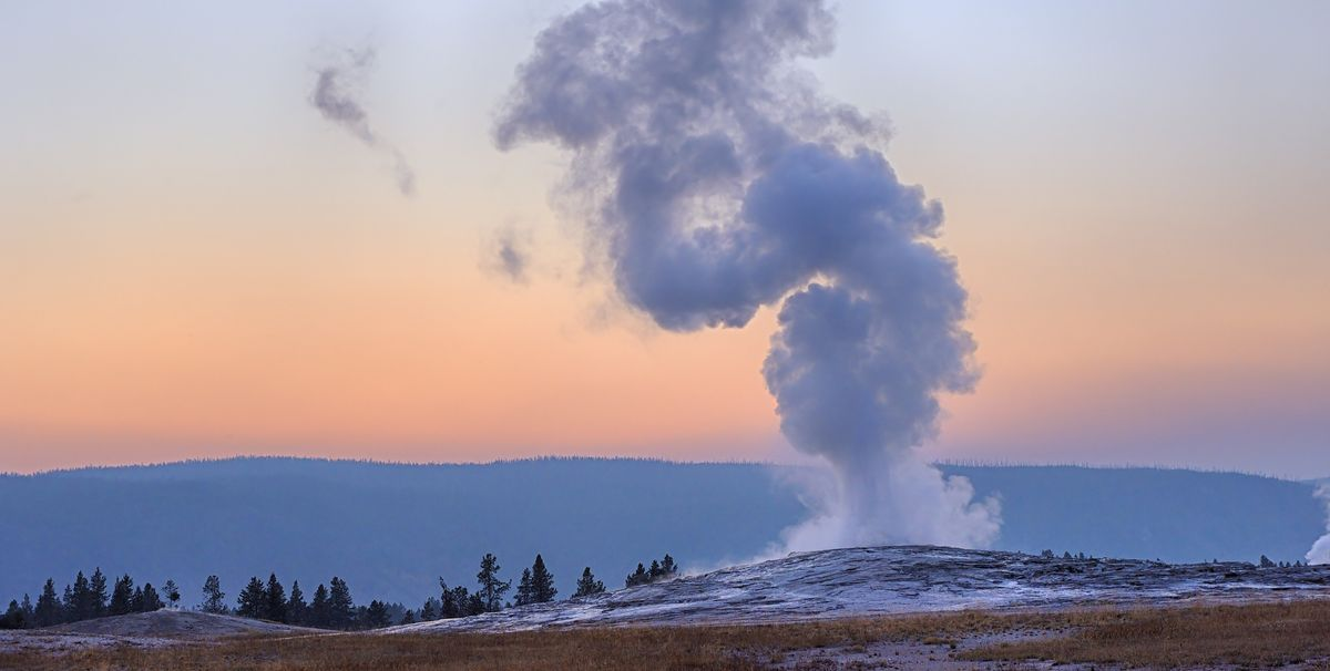 Yellowstone National Park Is Currently Closed, But You Can Live-Stream Old Faithful Right Now