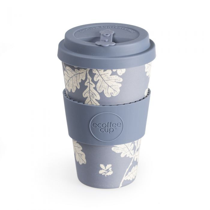 Reusable coffee cup in lilac