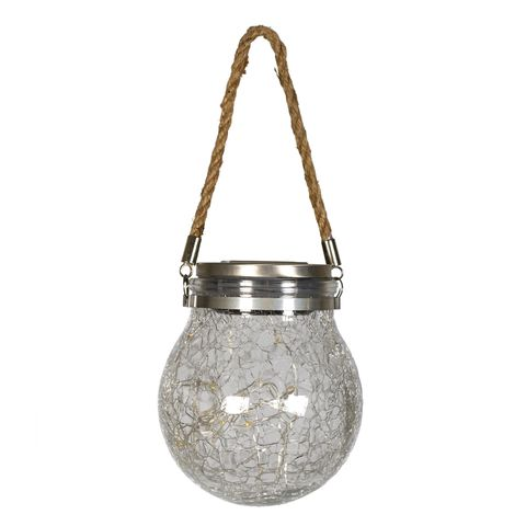 National Trust Crackle glass solar hanging ball GBP 12.00