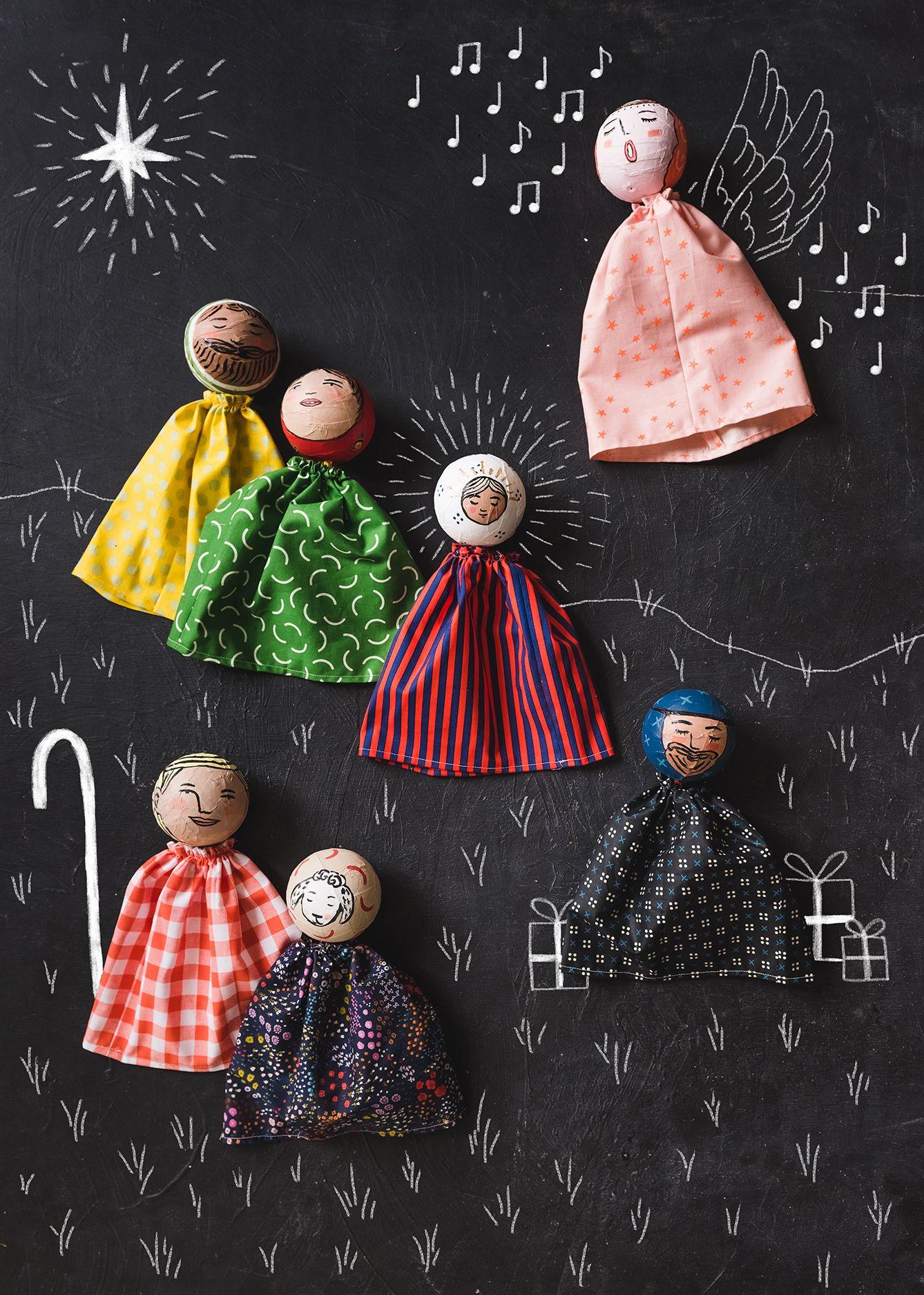 OUTDOOR 3D NATIVITY SET WOODWORKING PLAN YARD ART CHRISTMAS crafts 3 patterns