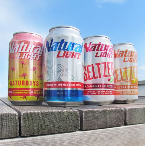 Natural Light Released Two Hard Seltzers With 6 Percent Abv