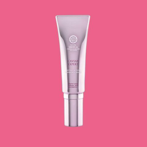 Pink, Magenta, Lipstick, Medical equipment, Cosmetics,
