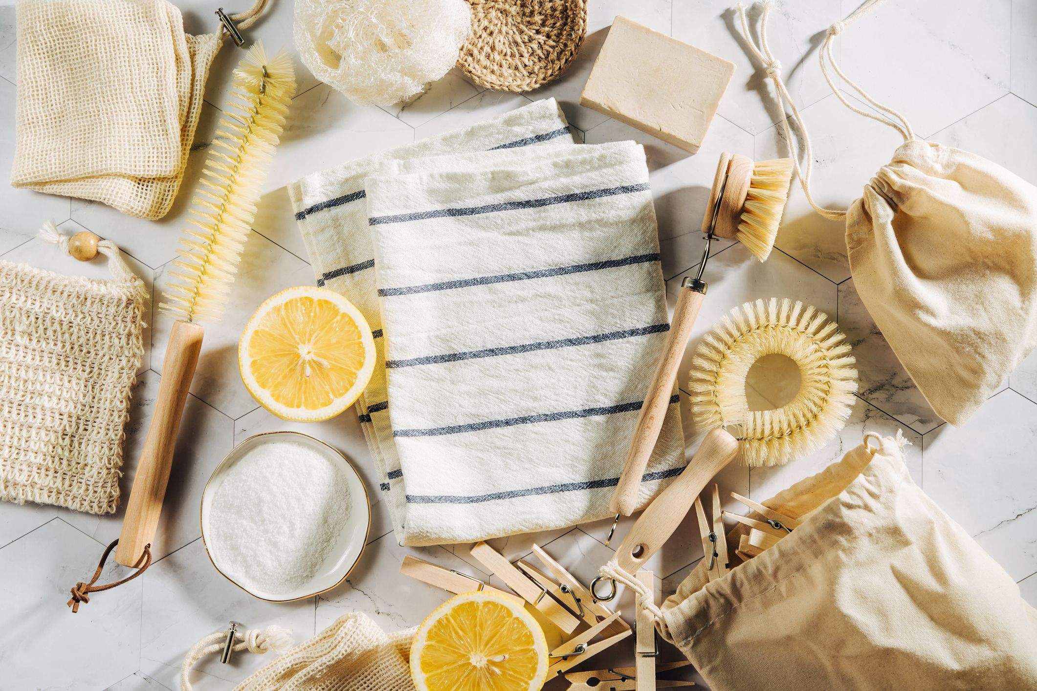 9 ways to switch to plastic-free cleaning