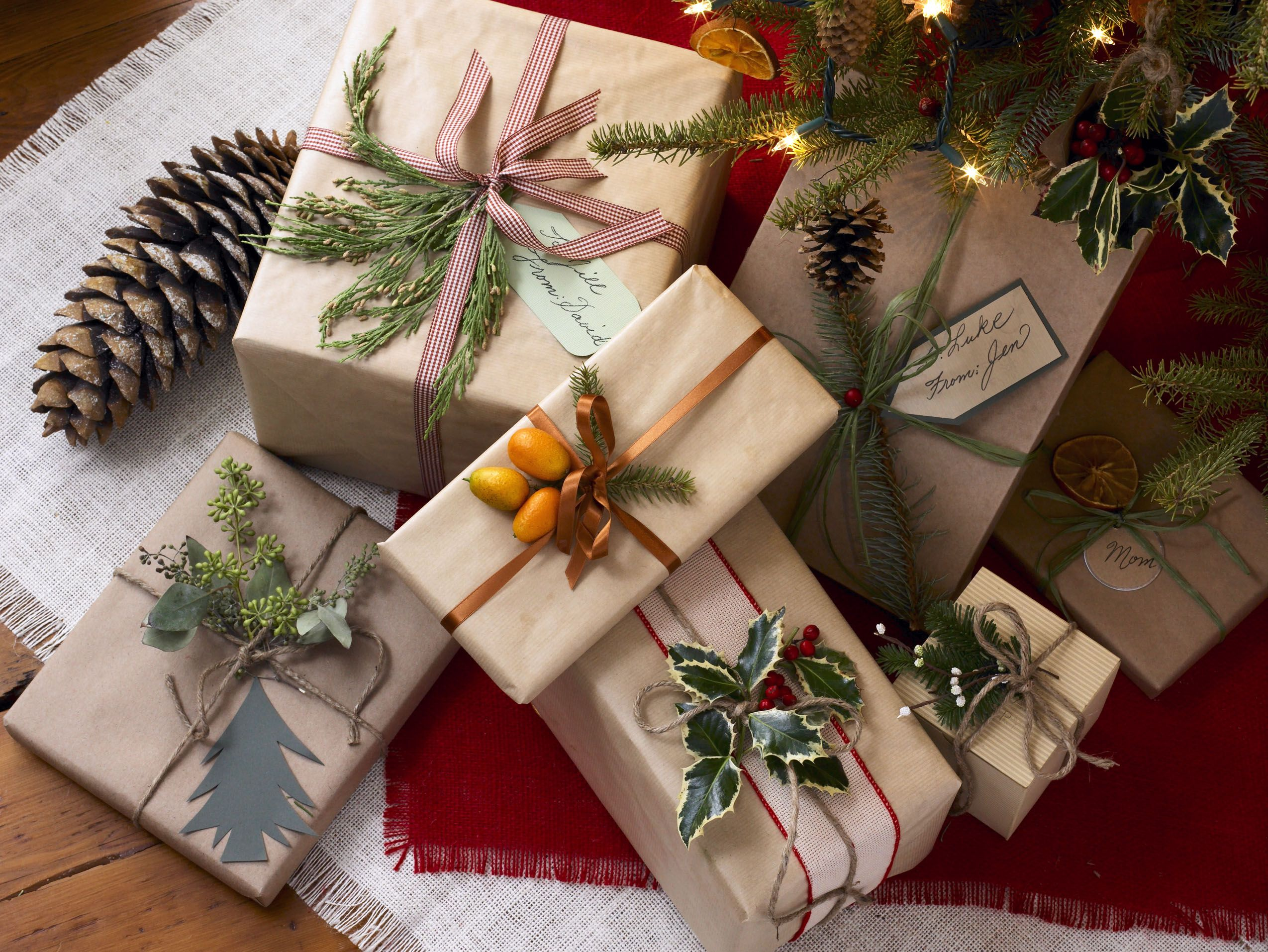 40+ Unique Christmas Gift Wrapping Ideas , DIY Holiday Gift Wrap