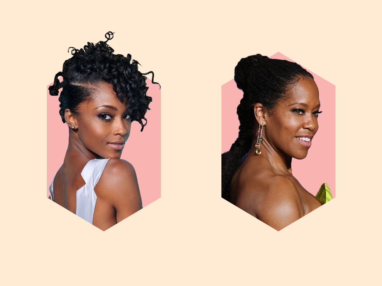 30 Easy Natural Hairstyles for Black Women , Short, Medium