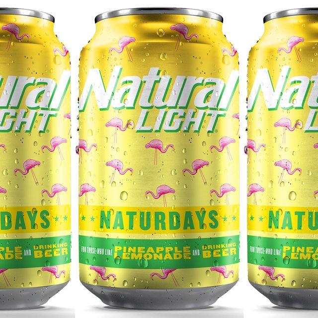 natural light naturdays pineapple lemonade beer