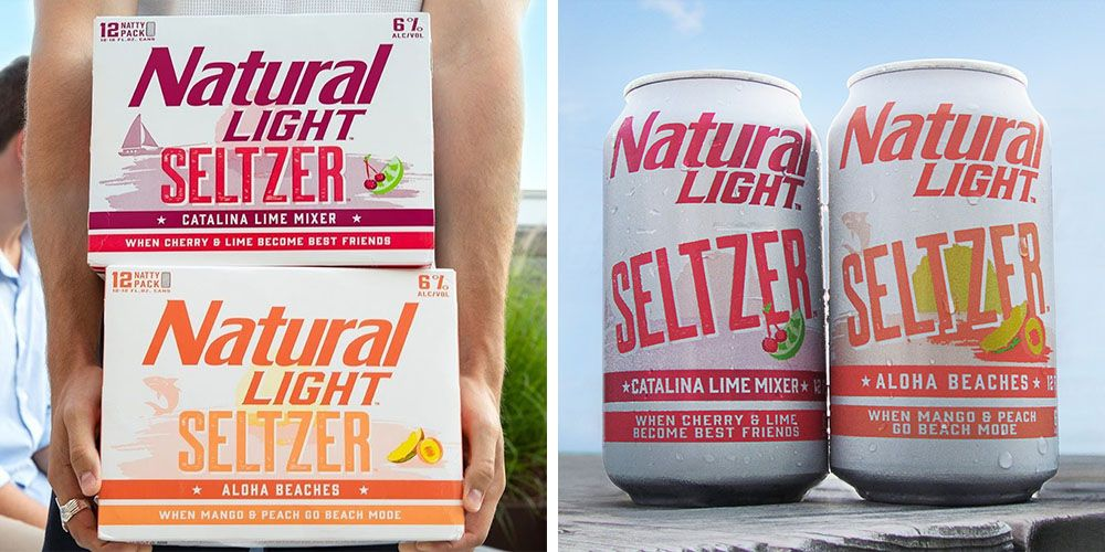 Natural Light Just Released Hard Seltzers That Taste Like A Beach Day