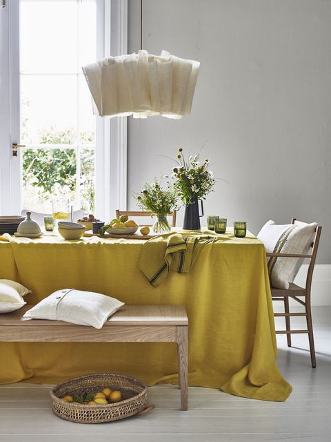 Natural linen, summer inspiration