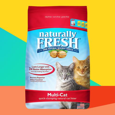 naturally fresh multi cat clumping litter