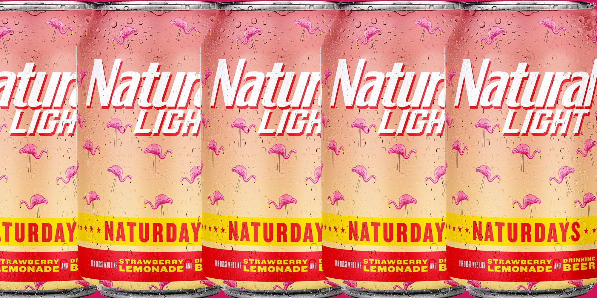 Natural Light Made A Strawberry Lemonade Beer Called Naturdays