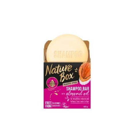 nature box almond oil shampoo bar