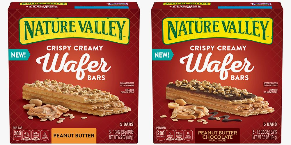 Nature Valley S New Wafer Bars Are A Peanut Butter Lover S