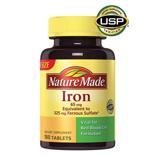 Naturemade Iron Supplement