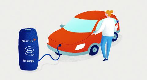 naturgy coche recargable