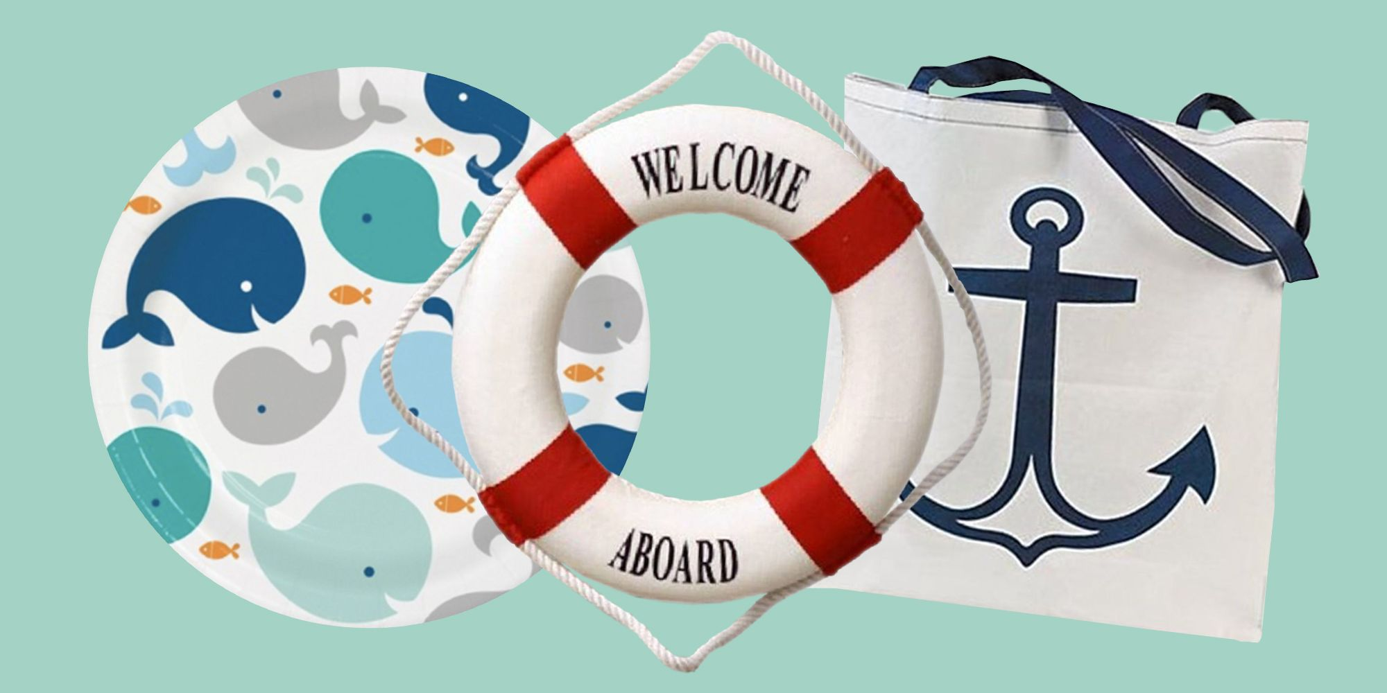 16 Best Nautical Baby Shower Ideas - Sailor-Themed Shower Decorations