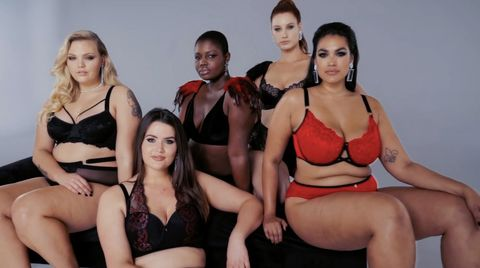 3346a627be59c Plus-size fashion brand Navabi recreated their own Victoria s Secret ...