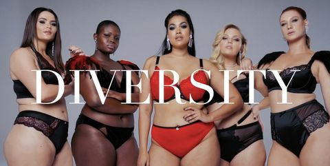 c8d0d2fa26 Plus-size fashion brand Navabi recreated their own Victoria s Secret fashion  show