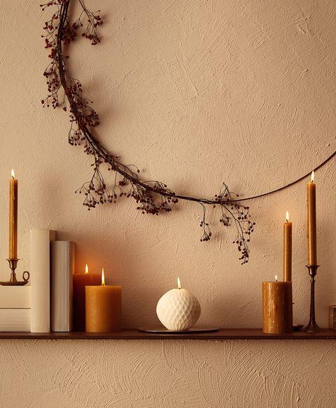 Ideas decoración natural de Navidad