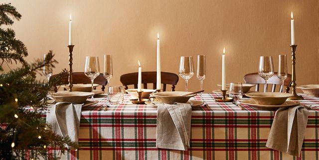 mesa de navidad de zara home