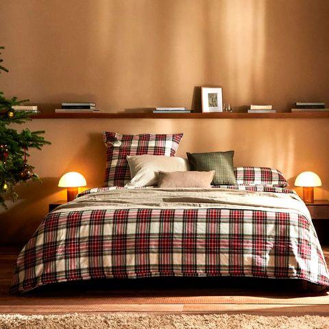 ideas decoración navidad zara home estilo escocés